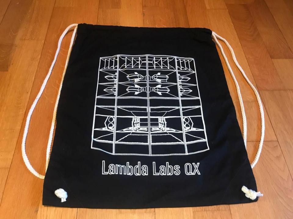 Lambda Labs QX3 Gym bag Black