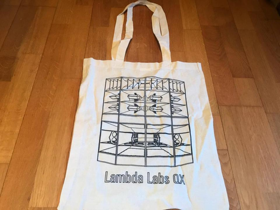 Lambda Labs QX3 Shopping bag White