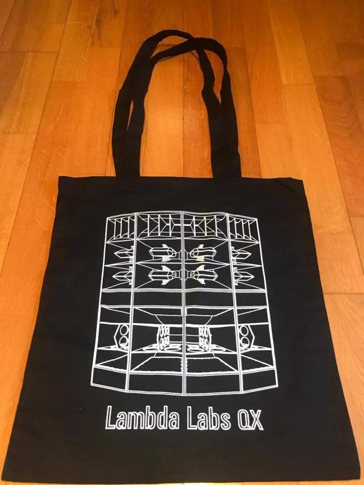 Lambda Labs QX3 Shopping bag Black